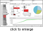 Click to enlarge: DSP Performance Canvas Software - Business Intelligence Dashboards & Scorecards