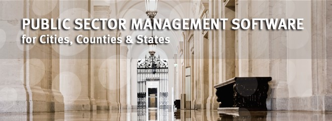 Public Sector Management Software for Cities, Counties & States